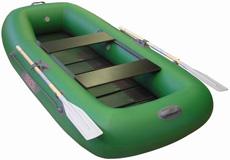 Надувная моторно гребная лодка из пвх